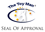 The Toy Man™ Seal of Approval which will become official replacement of the current emblem 1 January, 2007.