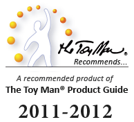 The Toy Man&reg; Recommends...&trade; Award is by far, the most challenging of our awards to acquire.&nbsp; Products that receive this award are officially <em>recommended</em> by The Toy Man&reg; Product Guide.&nbsp;They are given recognitionas being one of the limited few judged as having the best return on investment.&nbsp;This includes yet not limited to both immediate and long term benefit from use.