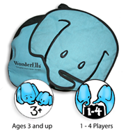 Image of pieces from the Wonderella game.