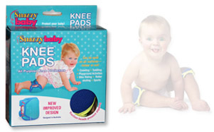 Example of the Snazzy Baby Knee Pads.