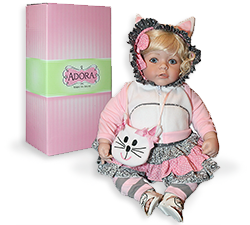 An image of The Adora� Toddler Time - The Cat's Meow doll.