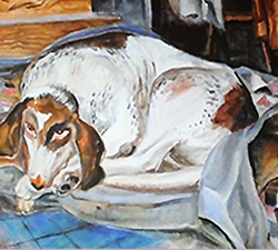 An image of a painting from the ArtObet Educational DVD