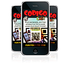 Image of Codigo Cube packaging.