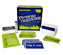 An image of the Reverse Charades product elelements.