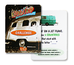An image of The Road Trip playing cards.
