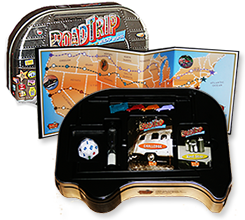 The Road Trip Game platform and case cover
