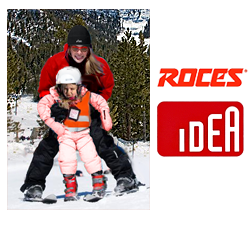 Image of Roces IDEA 6-in-1 Kids Adjustable Ski Boots.
