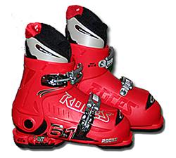 An image of the Roces IDEA 6-in-1 Kids Adjustable Ski Boots