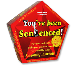 image of the You've Been Sentenced Word Game box.